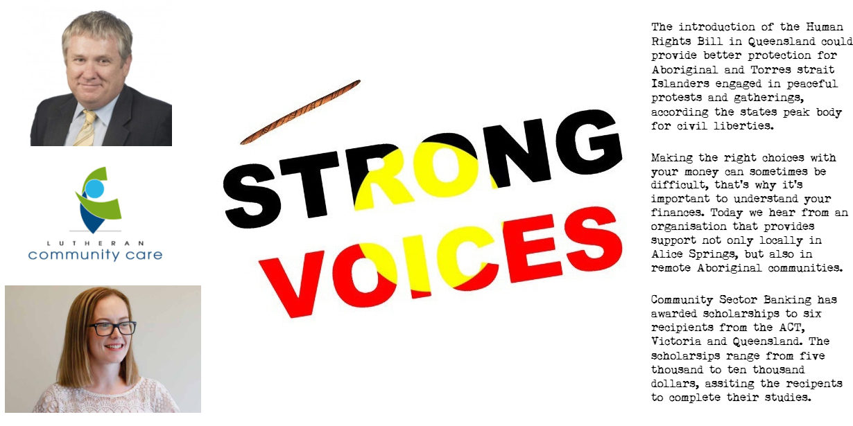 Strong Voices Monday 4th of March 2019 | CAAMA Radio
