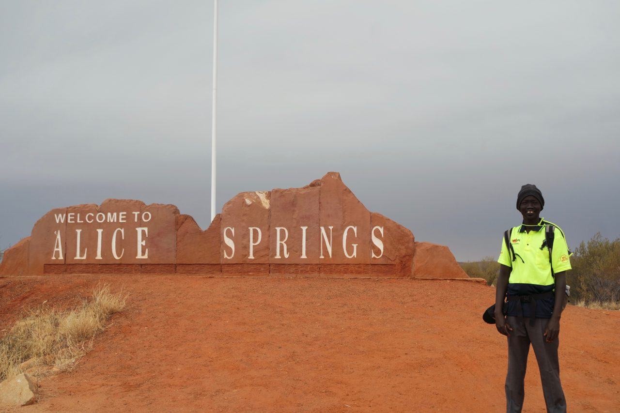 Darwin to Alice Springs - A Walk of a Lifetime to Support