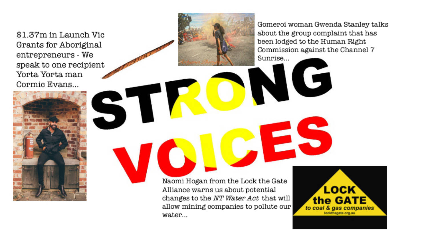 STRONG VOICES: Thursday 20th September, 2018 | CAAMA Radio